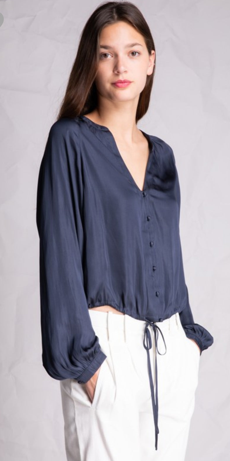 With Love Blouse in Midnight