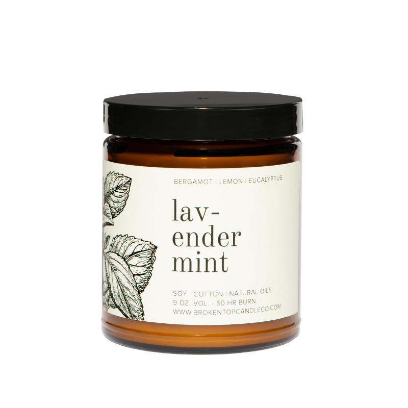 Lavender Mint- 9oz || Broken Top Candle Company
