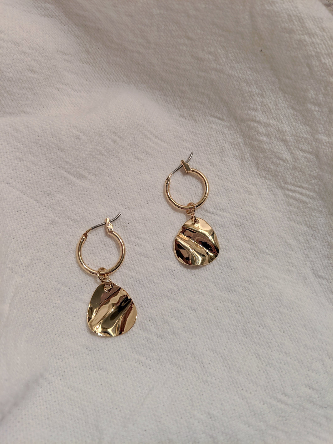Mini Hoop Earring in Gold