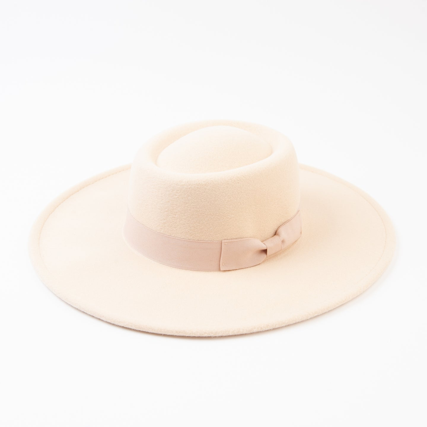 Rye Boater Hat in Milk