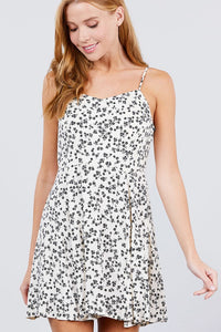 Siren Song Mini Dress (Cream/Ivory)