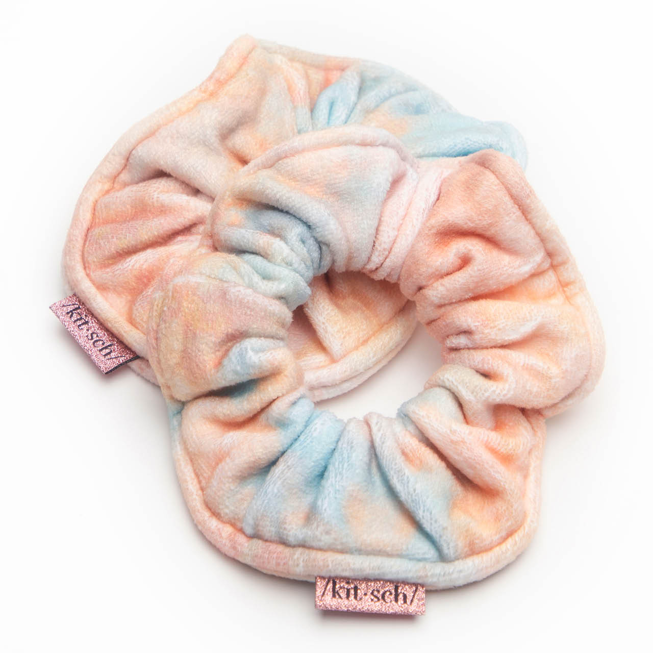 Microfiber Towel Scrunchies - Sunset Tie Dye