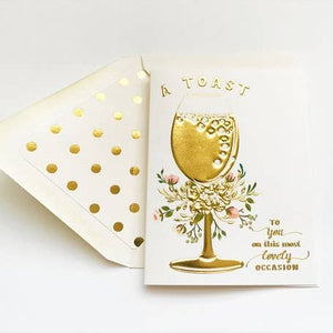 Greeting Card || A Toast || The First Snow