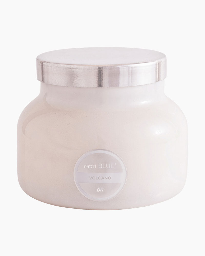 Capri Blue | Volcano White Petite Jar, 8oz