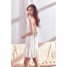 Cassandra Mini Dress in White