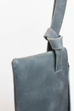Rachel Wristlet in Denim Blue