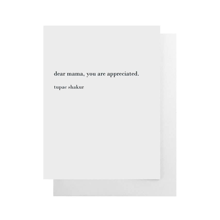Greeting Card || Dear Mama