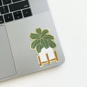 Fiddle Leaf Fig Sticker