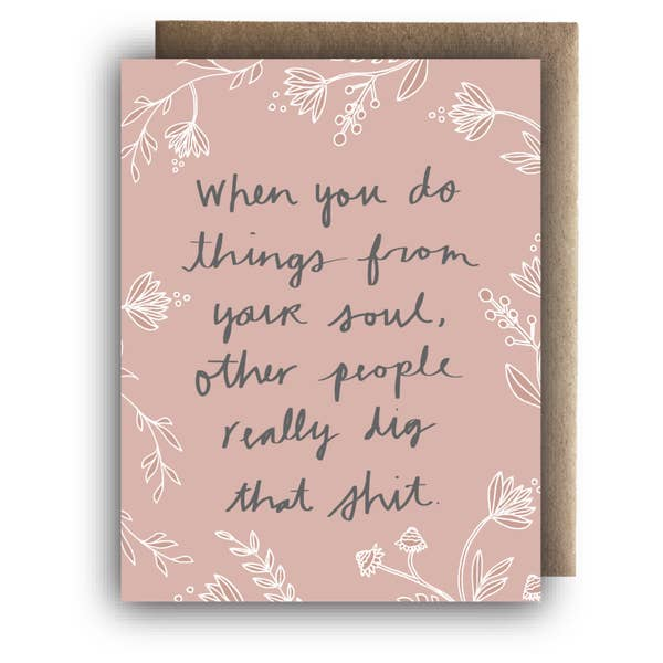 Greeting Card || Follow Your Soul