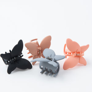 Matte Butterfly Hair Clips (Sold Individually)