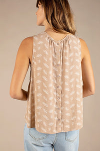 The Nea Top in Taupe