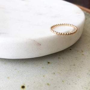 Sequin Ring || Token Jewelry