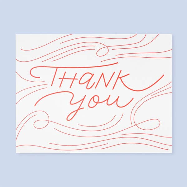 Thank You Card || by The Good Twin
