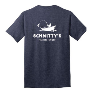 Schmitty's Short Sleeve Shirt -Heather Navy