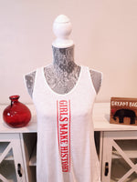 "White tank ""Girls Make History"""
