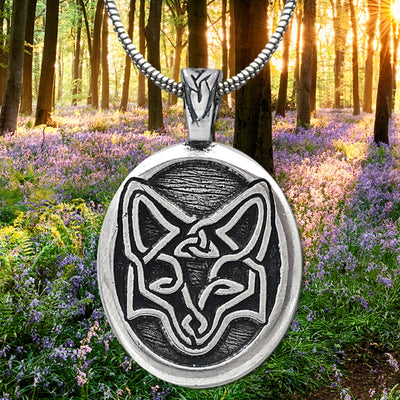 Celtic Fox Pendant