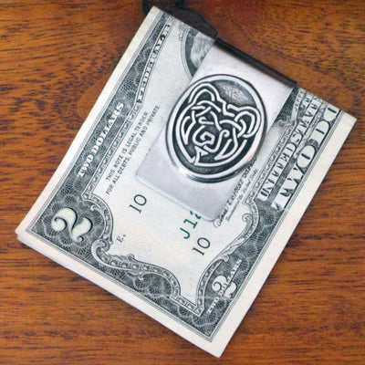 Celtic Knot Works Celtic Bear Money Clip (Wholesale)