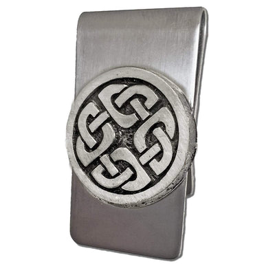Celtic Knot Works Celtic Money Clip with Shield Knot (Wholesale)