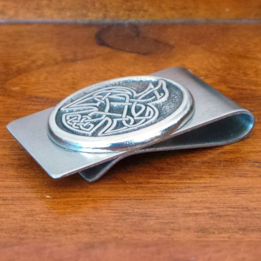 Celtic Knot Works Celtic Raven Money Clip (Wholesale)