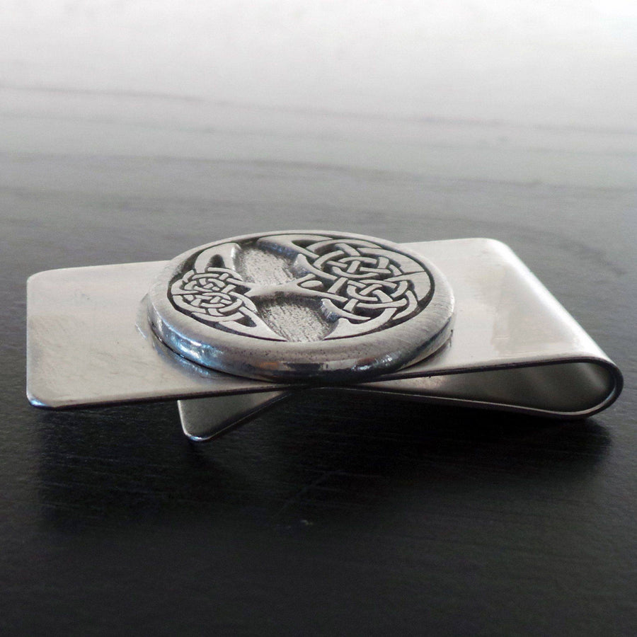Celtic Knot Works Celtic Tree of Life Money Clip (Wholesale)