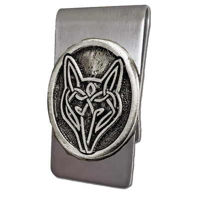 Celtic Knot Works Celtic Wolf Money Clip (Wholesale)