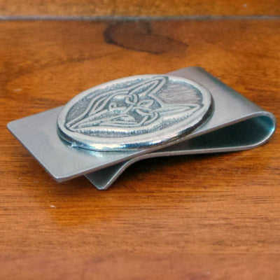 Celtic Wolf Money Clip - Celtic Knot Works