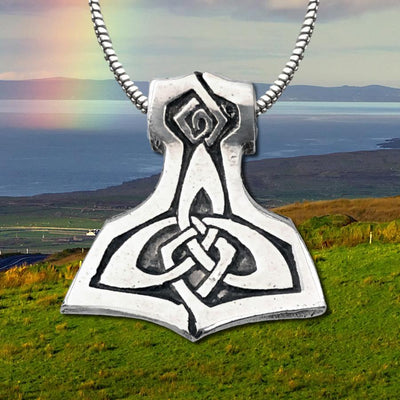 Celtic Knot Works Jewelry Brigid's Celtic Hammer Pendant (wholesale)