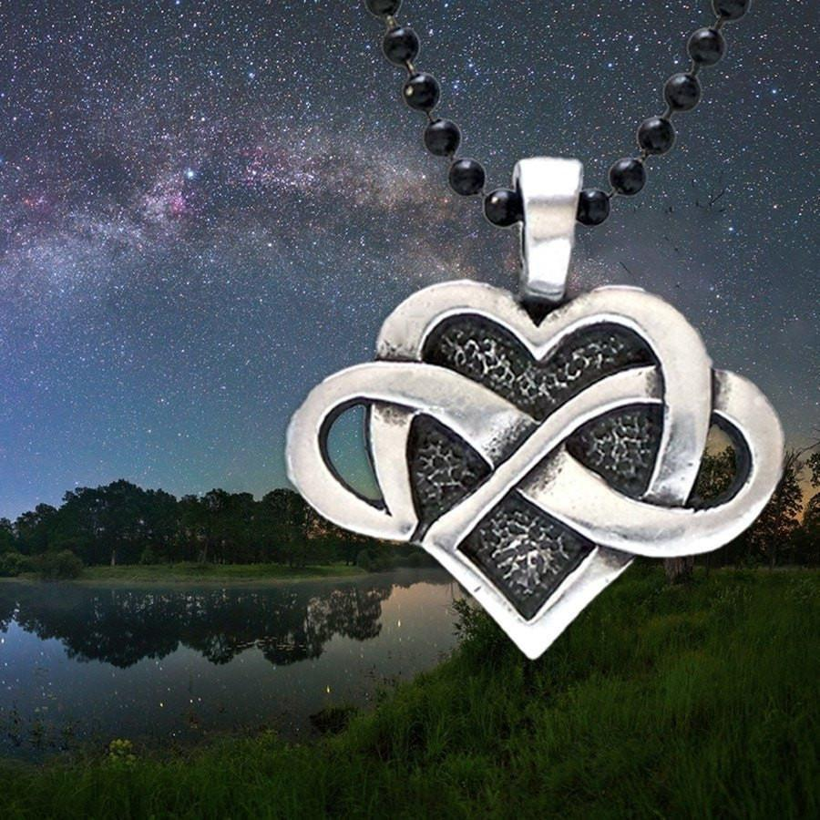 Celtic Infinite Heart Pendant (Wholesale)