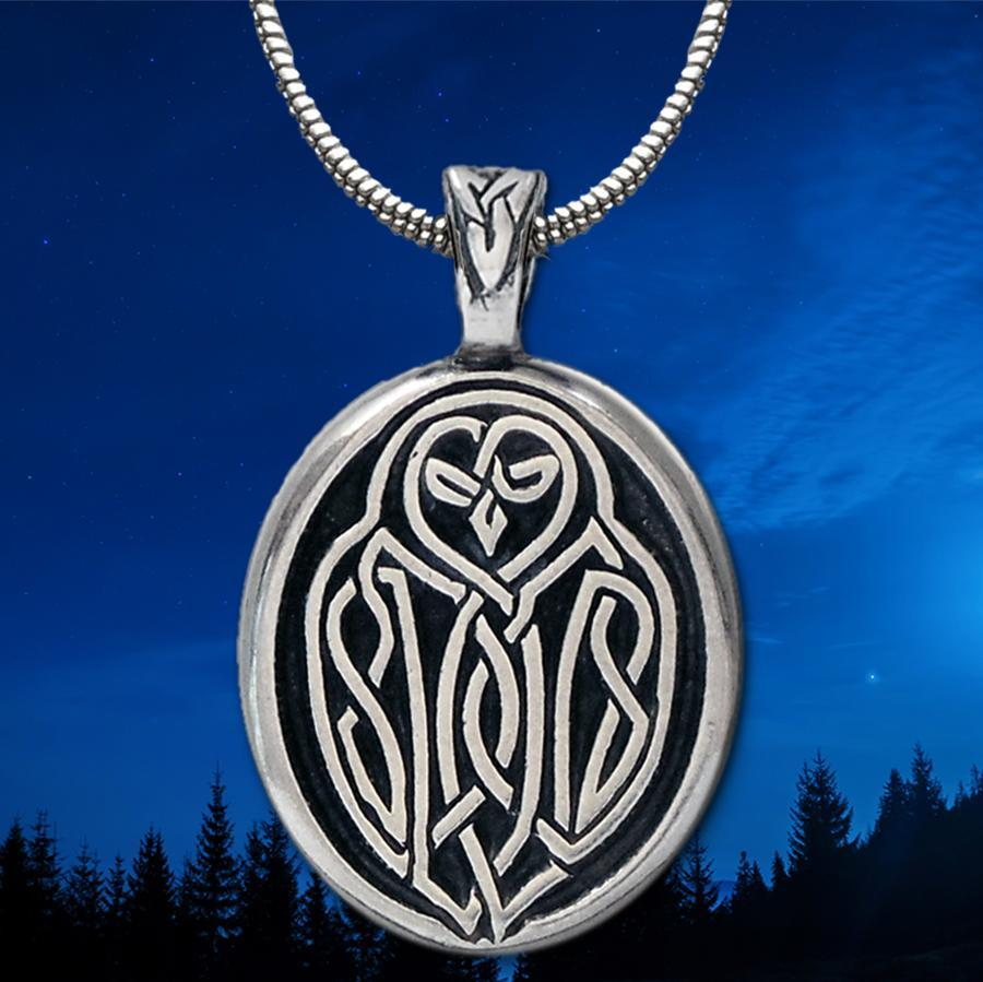 Celtic Owl Pendant (Wholesale)