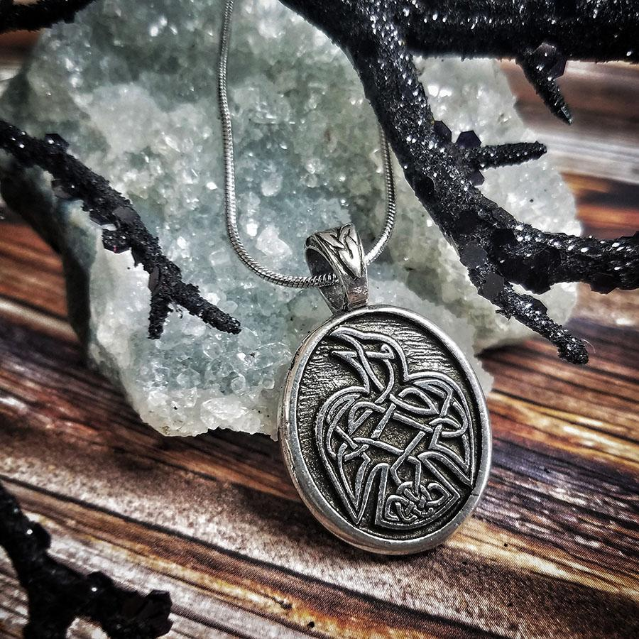 Celtic Raven Pendant (Wholesale)