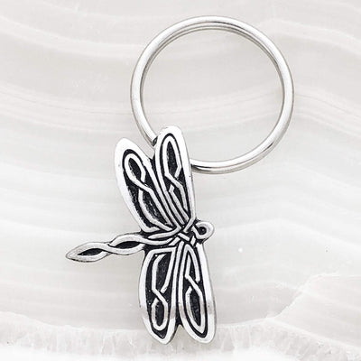 Celtic Dragonfly Keychain (Wholesale)