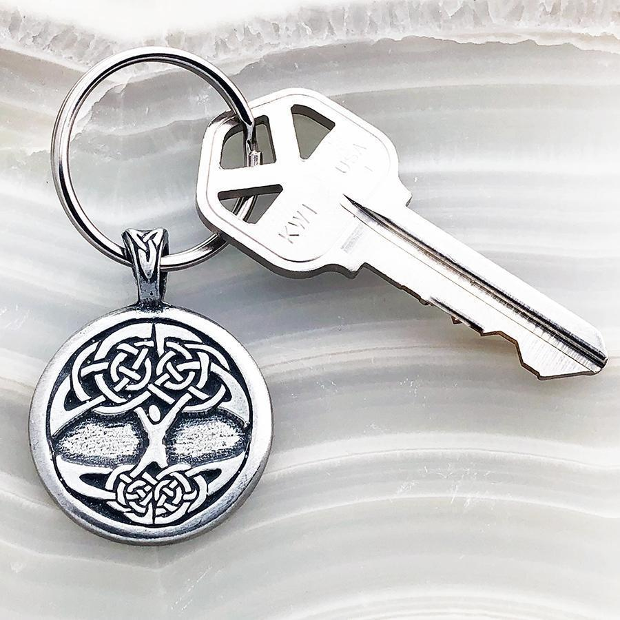 Celtic Knot Works Key Chain Celtic Tree of Life Keychain (Wholesale)