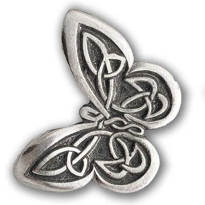Celtic Knot Butterfly Pewter Pin (Wholesale)