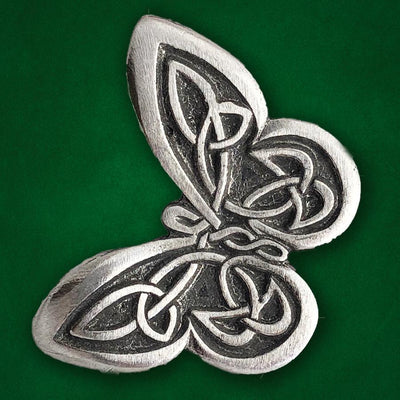 Celtic Knot Works Pin Celtic Knot Butterfly Pewter Pin (Wholesale)