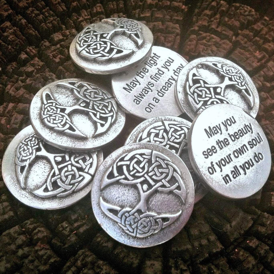 CelticWholesale Pocket Charms Celtic Tree of Life Blessings (Wholesale)