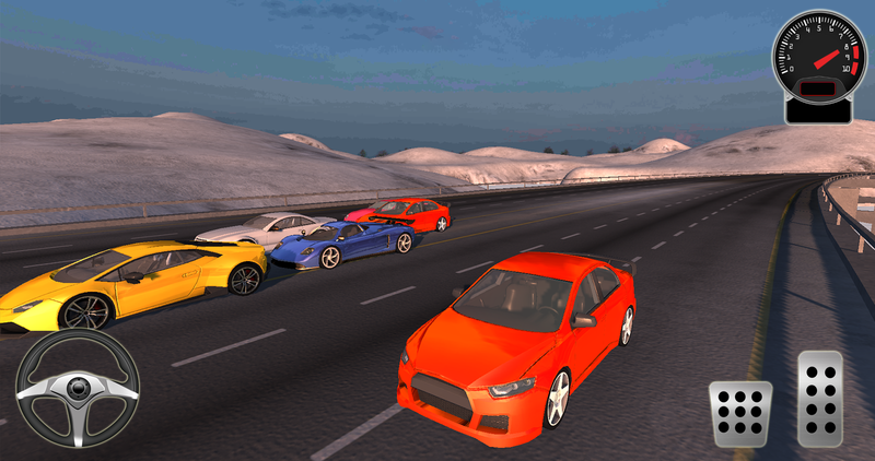 Turbo Car Racing