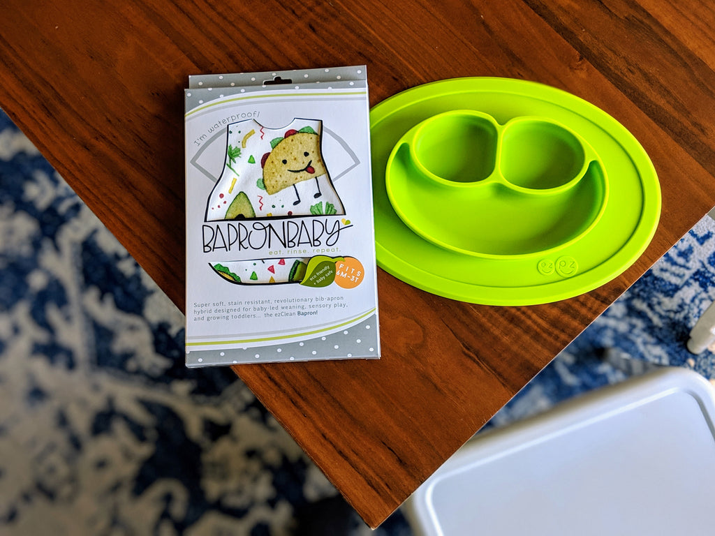 EZPZ Mini Mat Placemat and Plate in one