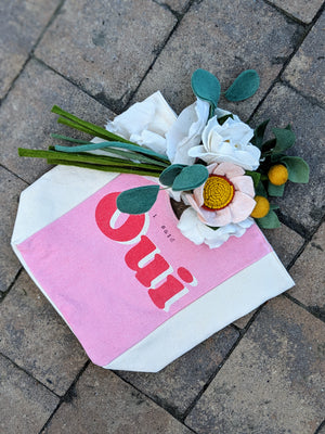 """I Said Oui"" Small Tote Bag"