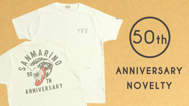【配布終了致しました。】50th ANNIVERSARY NOVELTY CAMPAIGN!!