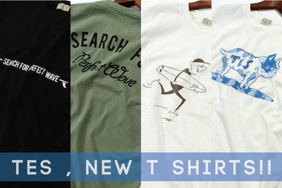 TES 2018 HIGH SUMMER T SHIRTS SERIES を新入荷!