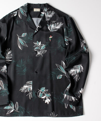 ≪ご予約商品/2上旬お届け≫ TES BOTANICAL ALOHA LONG SLEEVE SHIRTS