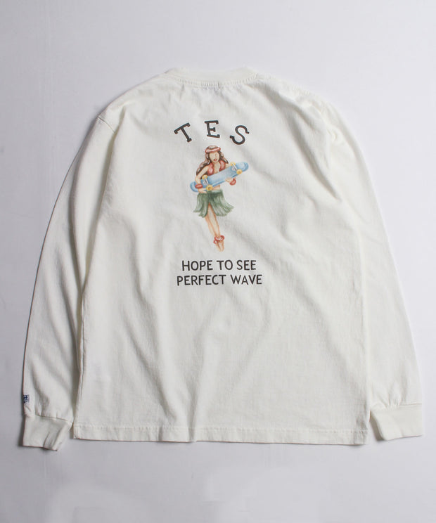 TES HULA BETTY LONG SLEEVE TEE / ロンT