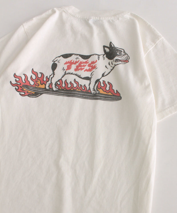 TES FIRE SURF BUHI T-SHIRT / Tシャツ
