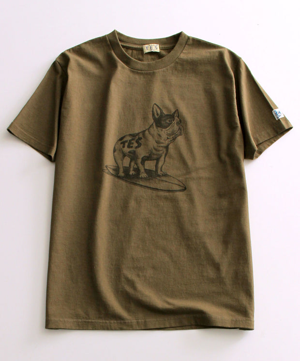 TES DRAWING BUHI T-SHIRT / Tシャツ