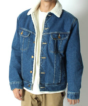 【Lee】 Storm rider Denim Boa Jacket