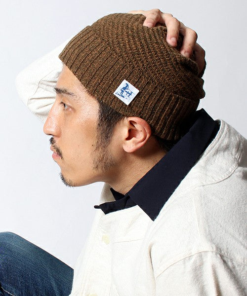 TES LOCAL CAMEL KNIT CAP