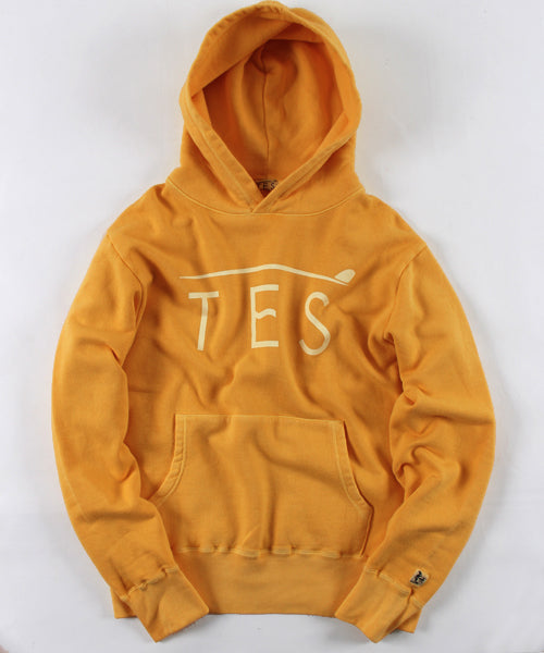 WEB限定! TES PIGMENT LOCAL LOGO PARKA
