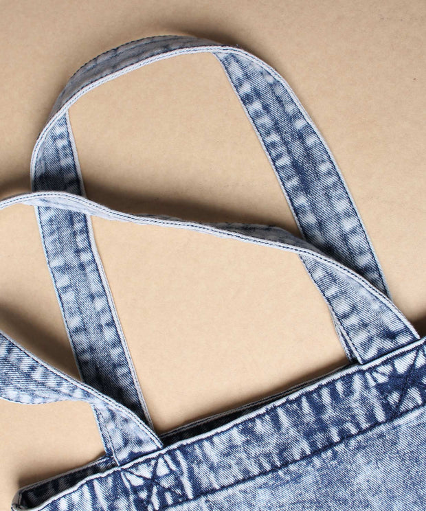 DENIM BUHI TOTE BAG MEDIUM