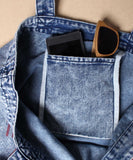TES LOCAL DENIM TOTE BAG LARGE