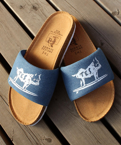TES DENIM SANDALS